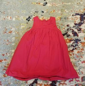 Girls 3t Primary Red Dress